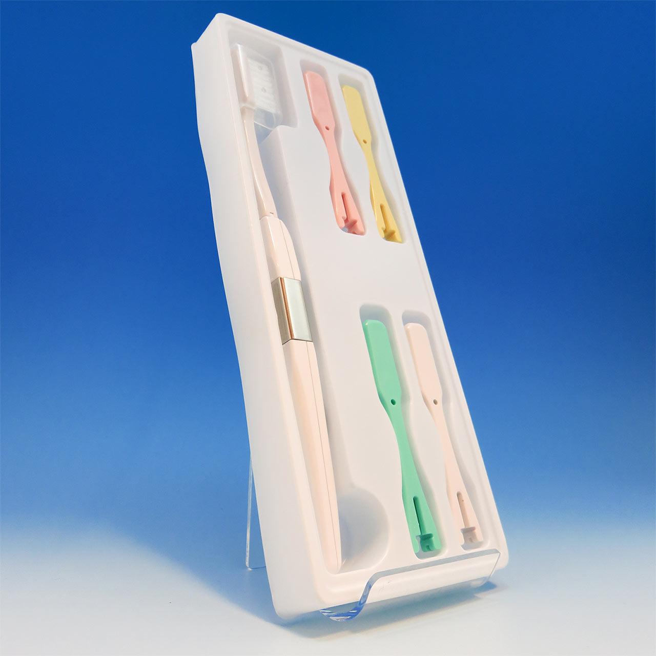電子歯ブラシ・ハイジ こども用本体セット(ふつう)のパッケージ内容