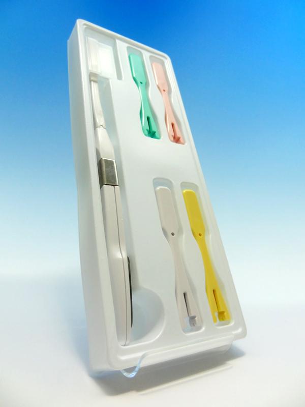 電子歯ブラシ・ハイジ本体セット(ふつう)のパッケージ内容