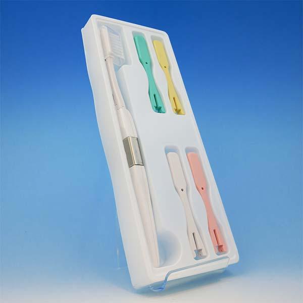 電子歯ブラシ・ハイジ 本体セット 本体1本と替えブラシ5本